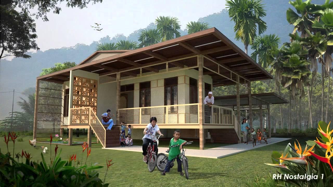 Pelan Rumah Kampung Tradisional