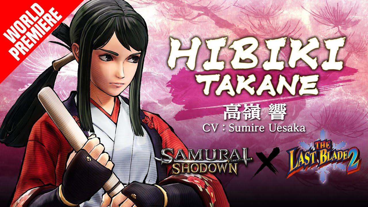 HIBIKI TAKANE|SAMURAI SHODOWN –DLC Character (Europe)