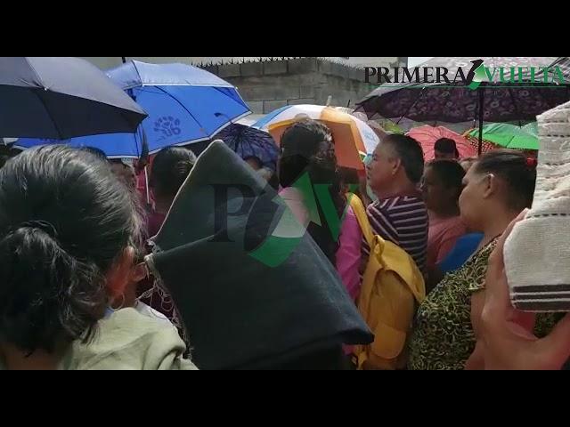 Ciudadanos se manifiestan ante falta de agua en Cd. Victoria