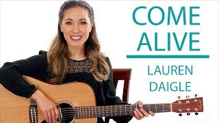 Come Alive (Dry Bones) Lauren Daigle Guitar Tutorial with Play Along