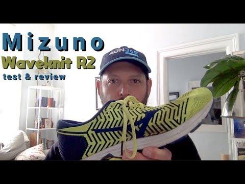 mizuno waveknit r2 review