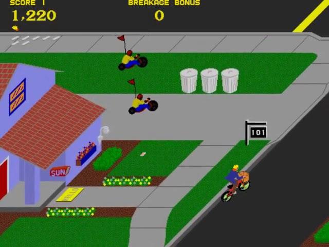 Jouez à Paperboy sur Borne d'Arcade grâce à nos bartops et consoles retrogaming