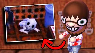 I visited Cannibal Village in Animal Crossing...