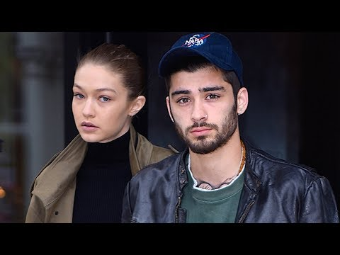 Zayn Malik CAUGHT Creeping In Front Of Gigi Hadid's Apartment! Are The Two Back Together?