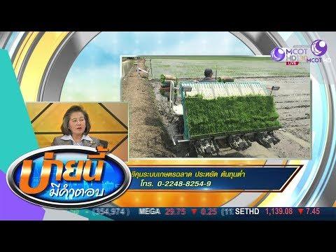 ใช้เทคโนโลยีคุมระบบเกษตรฉลาด ประหยัด ต้นทุนต่ำ - วันที่ 10 Oct 2019