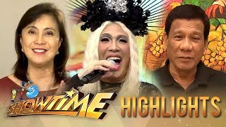 Pres. Duterte and Vice Pres. Robredo greet Vice Ganda on his birthday | It's Showtime