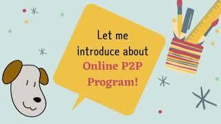 P2P Program Introduction Sponsors