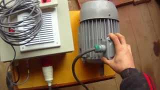 Частотный преобразователь.Как подключить трёхфазный электродвигатель от 220В.(Владикавказский частотный преобразователь. Блок питания трехфазных электродвигателей от однофазной сети...., 2015-04-10T16:22:01.000Z)