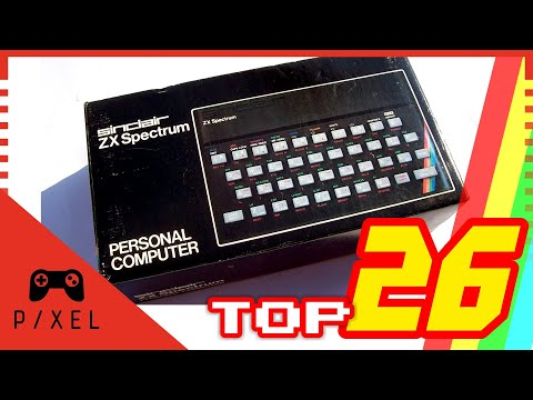 The ZX Spectrum: Why it was so Popular & My Top 26 Games - I