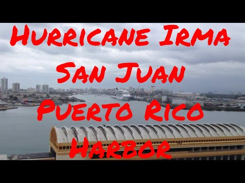 Hurricane Irma Maria San Juan Puerto Rico Harbor District Top Rebuild Area