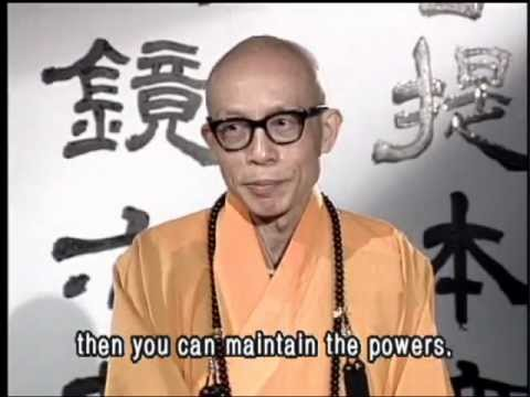 Supernatural power and its impact on society(GDD-7, Master Sheng Yen)