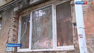 Замок ужасов многоквартирный дом в Омске буквально разваливается на глазах