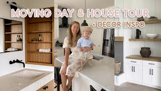 """MOVE WITH US // New House Tour """"before"""" Process + Moving Vlog!"""