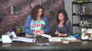 How to create articulated paper dolls on Make It Artsy with Cynthia Thornton (211-2)