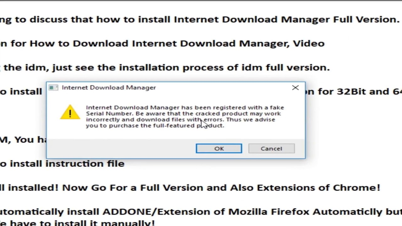 How to Install Internet Download Manager Latest Version with Chrome  Extension - IDM 6 32 Build 7
