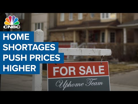 Epic shortage of homes for sale pushes prices even higher