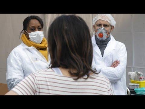 Во Франции от коронавируса умерли более 10 тысяч человек…