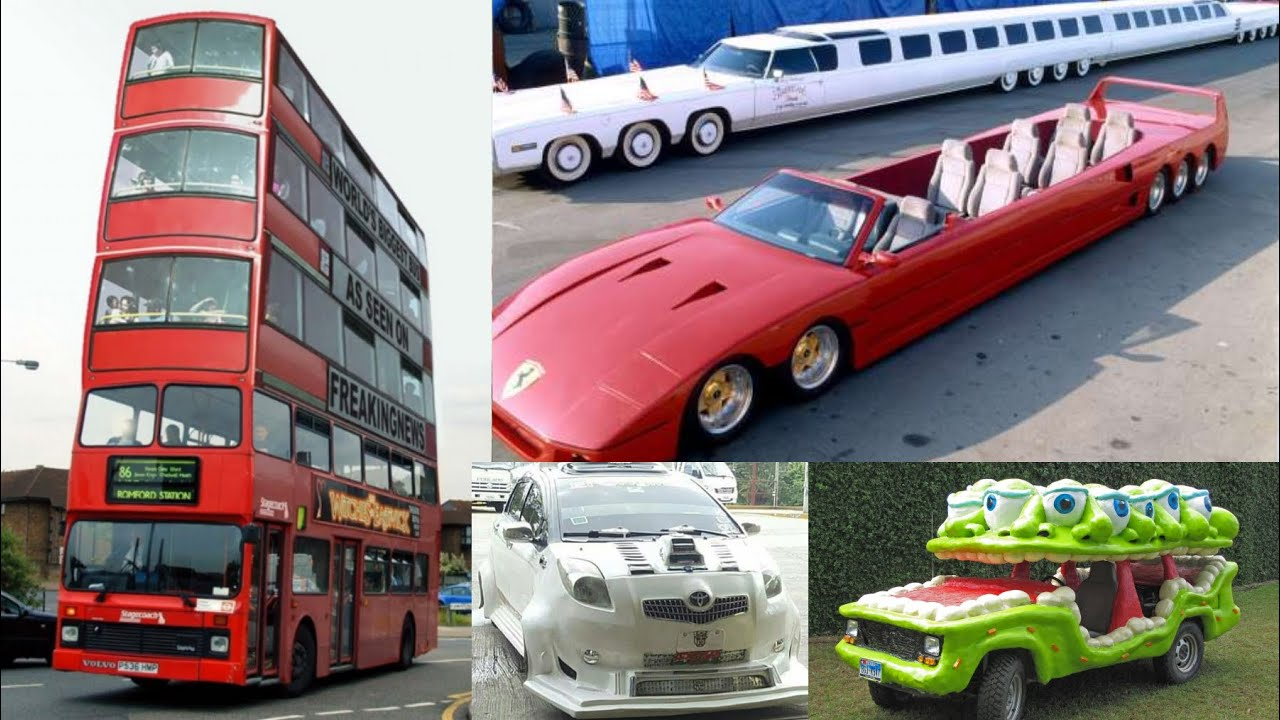 40 WEIRD CARS You Won't Believe Exist 2021 - Crazy Unique Vehicles from the World Compilation Part.7