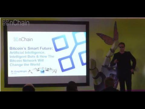Bitcoin's Smart Future - Dr. Craig Wright - Amsterdam 2017