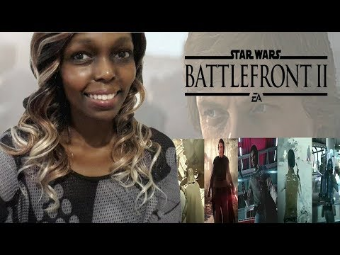 Star Wars Battlefront 2 - ALL 14 HEROES GAMEPLAY! Yoda, Kylo Ren, Darth Vader, Rey, Luke REACTION!
