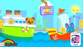Game Cute & Tiny Ships - Mewarnai Kapal - Duploku