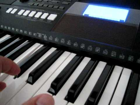 the sound of yamaha psr e423 keyboard youtube. Black Bedroom Furniture Sets. Home Design Ideas