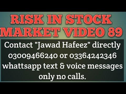 Risk in stock market video 89