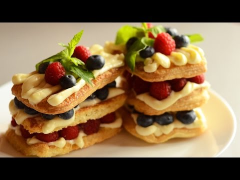 Berry Millefeuille and Inverse Puff Dough Recipes