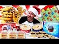 THE ULTIMATE CHRISTMAS COOKIE CHALLENGE! (9,000+ CALORIES)