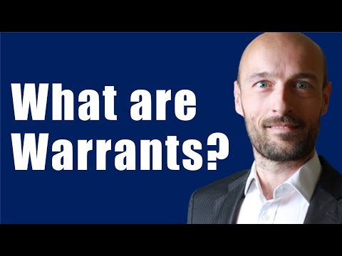 What is a Warrant in Finance? Financial Derivatives - Stock Warrants