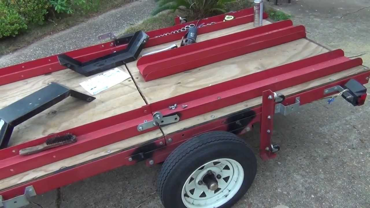 Harbor Freight Fold Up Trailer
