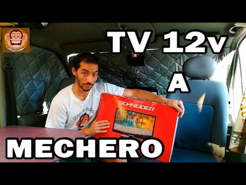 "TV 22"" A 12V Con CONEXION A MECHERO!!!!  #38  [review]"