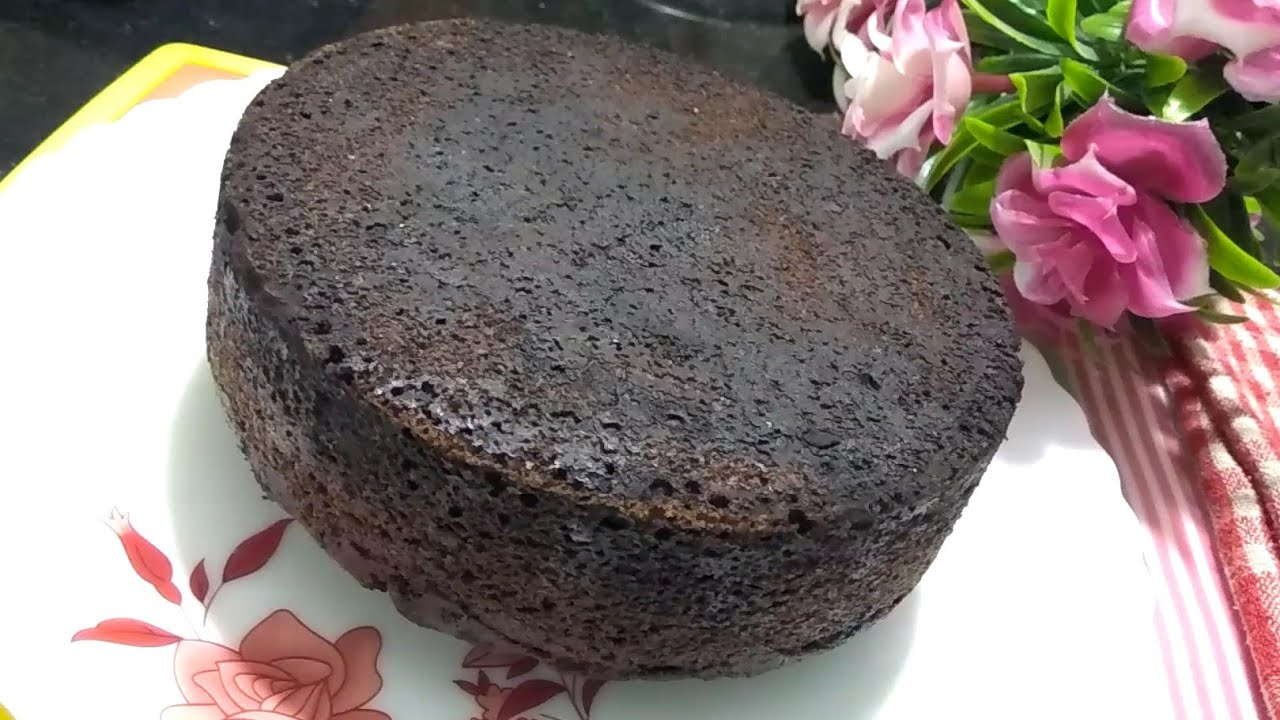 Wheat Flour Chocolate Cake Recipe in Microwave Oven ...