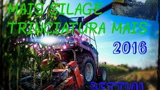 MAIS SILAGE | New Holland 9640 | New Holland & Fiatagri tractors | BETTIOL [GO PRO]