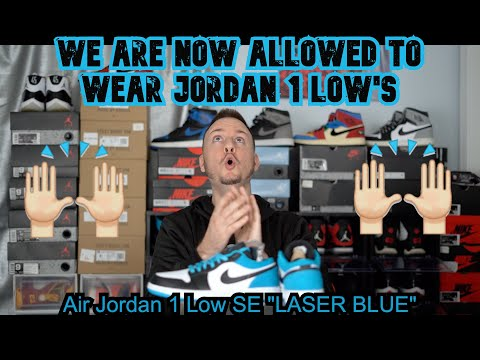 Watch Before You Buy We Are Now Allowed To Wear Air Jordan 1 Low Laser Blue 2020 Review Youtube
