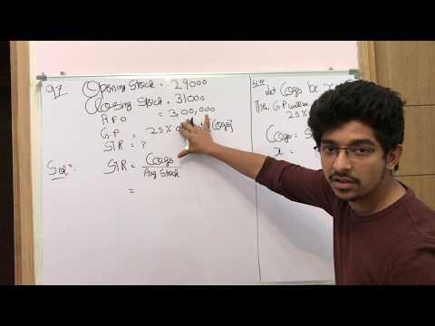 Stock Turnover Ratio(STR), Activity or Turnover Ratio, Accounting Ratios, 12th Class Accountancy