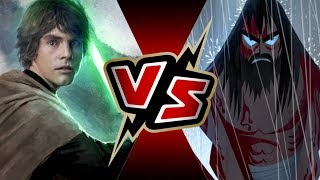 Luke Skywalker VS Samurai Jack   BATTLE ARENA