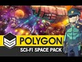 POLYGON Sci-Fi Space Pack - (Trailer)  3D Low Poly Art for Games by #SyntyStudios