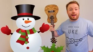 FROSTY THE SNOWMAN - FUN CHRISTMAS UKULELE TUTORIAL!