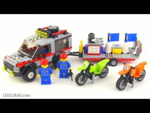 LEGO City Dirt Bike Transporter 4433 review!
