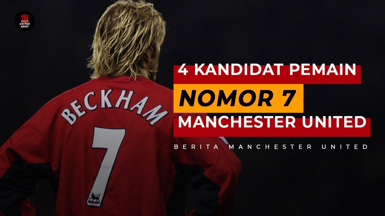 4 Kandidat Pemain Bernomor Punggung 7 Manchester United