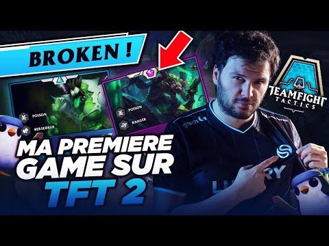 [TFT] MA PREMIERE GAME SUR LE NOUVEAU TFT ! POISON BROKEN ?! TEAMFIGHT TACTICS LOL FR