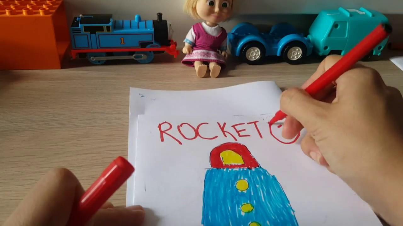 Learn Colors With Drawing Preschool Kindergarten Egitici Boyama