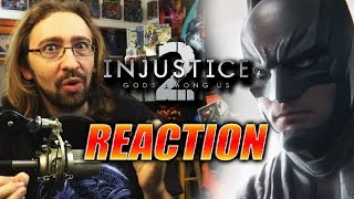 MAX REACTS: Injustice 2 New Trailer & Characters!