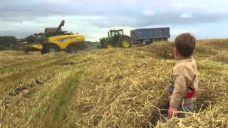 Tractors, diggers, lorries, for kids and children. TRACTOR SONG