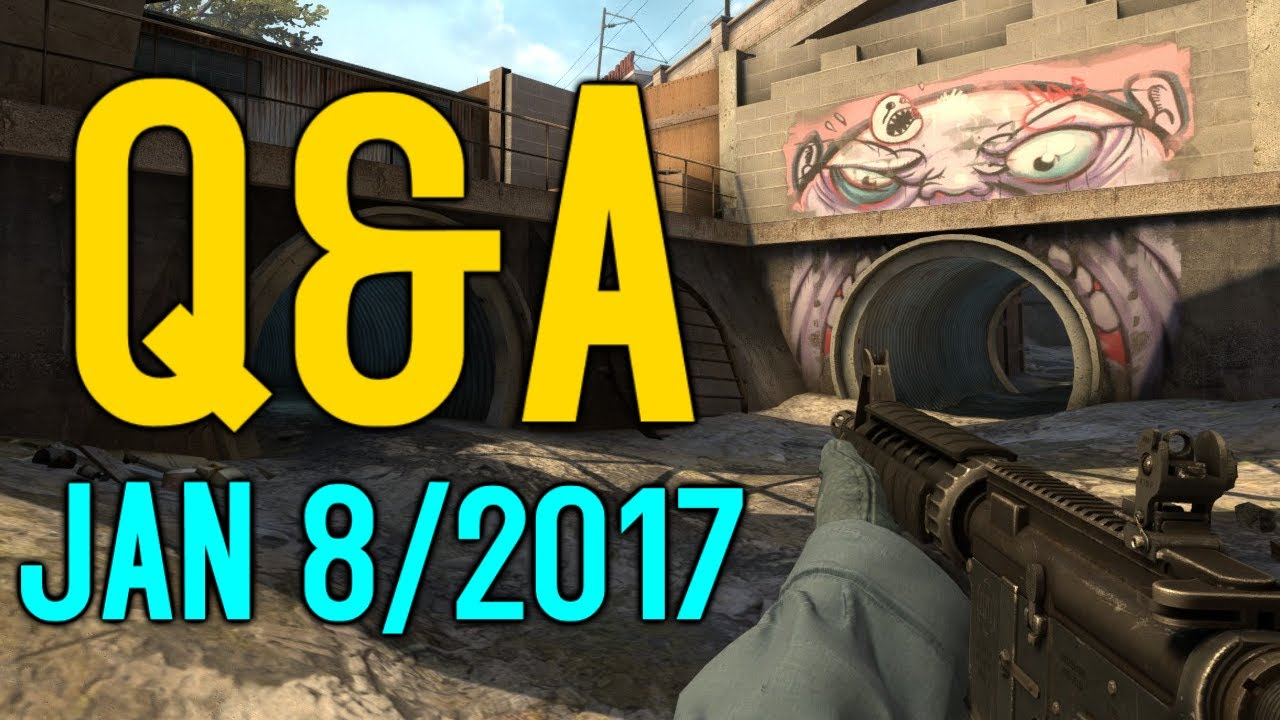 Q&A - How I got into CSGO, My age, My PC specs, Trading series? and More!