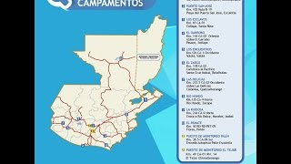 Campamentos SINAPRESE 2015 al servicio de la población guatemalteca
