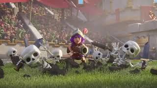 Clash Royale ve Clash of Clans 3D mini film