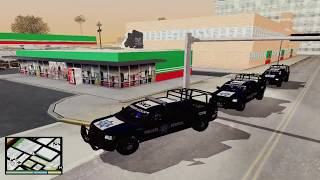 MOD CONVOY PARA GTA SA PC |  Grand Theft Auto San Andreas | AlexisLopez731