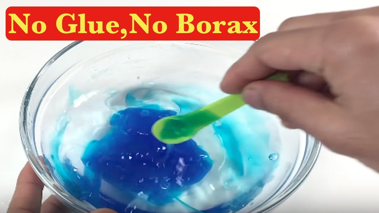Testing 2 Ingredient Slime Recipes No Glue No Borax No Detergent Slime Recipes